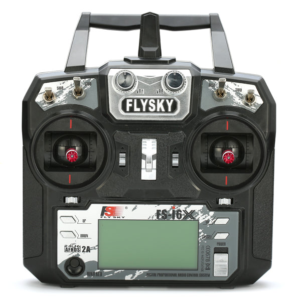 Flysky i6X FS-i6X 2.4GHz 10CH AFHDS 2A RC Transmitter With X6B/IA6B/A8S Receiver for FPV RC Drone