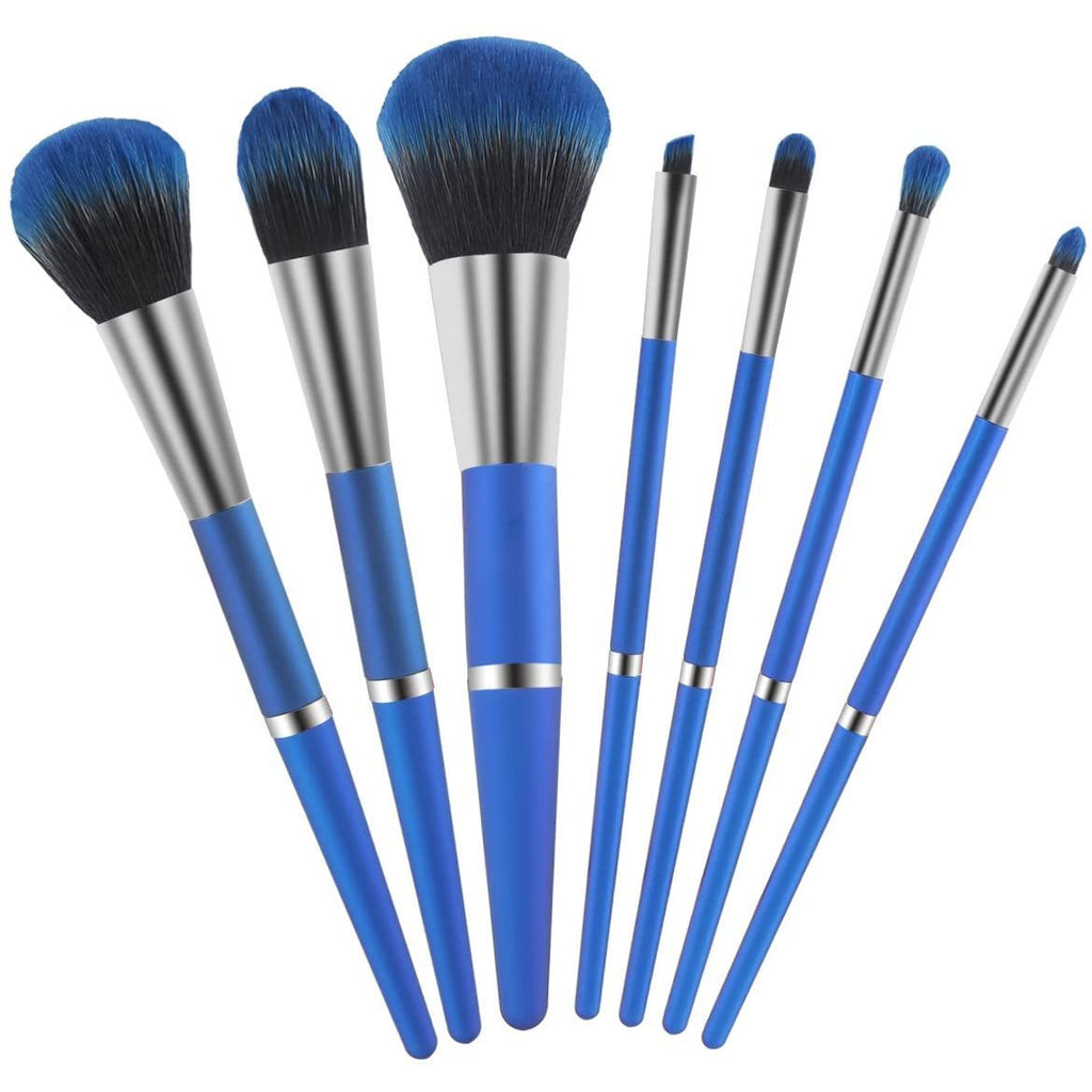 Yameite Makeup Brushes Set, 6 pcs Silicone Cosmetic Brush Kit for Female's Face Mask and Eye Makeup