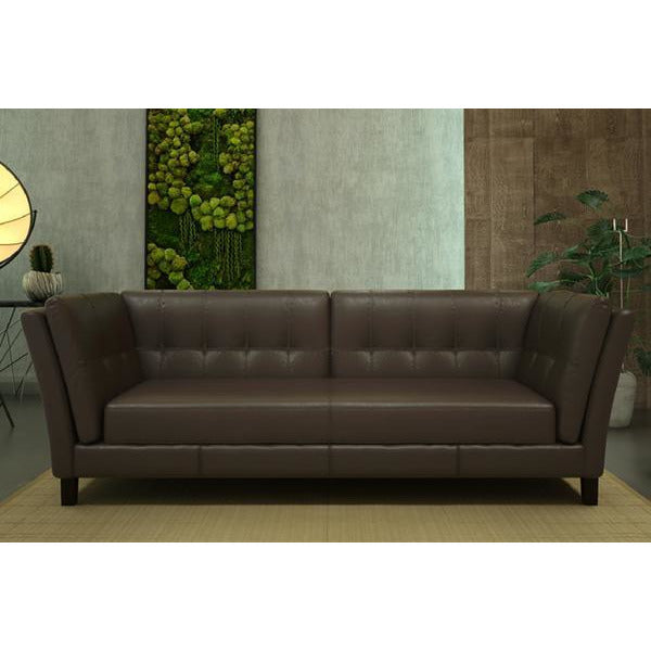 Axton 3 Seater ( Classic Brown ) - Loungeout