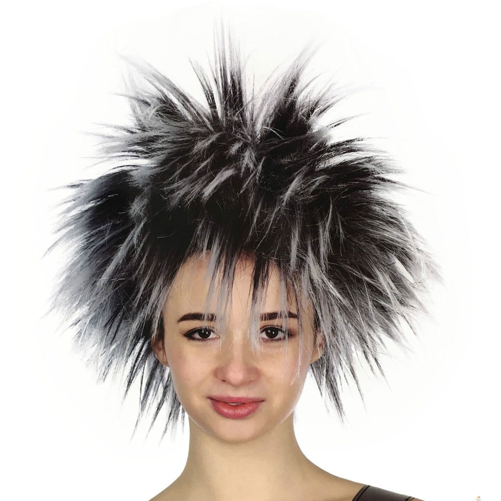 SPIKY WIG Punk Short Costume Party Hair Cosplay Rock Fancy Dress Women's 80s New