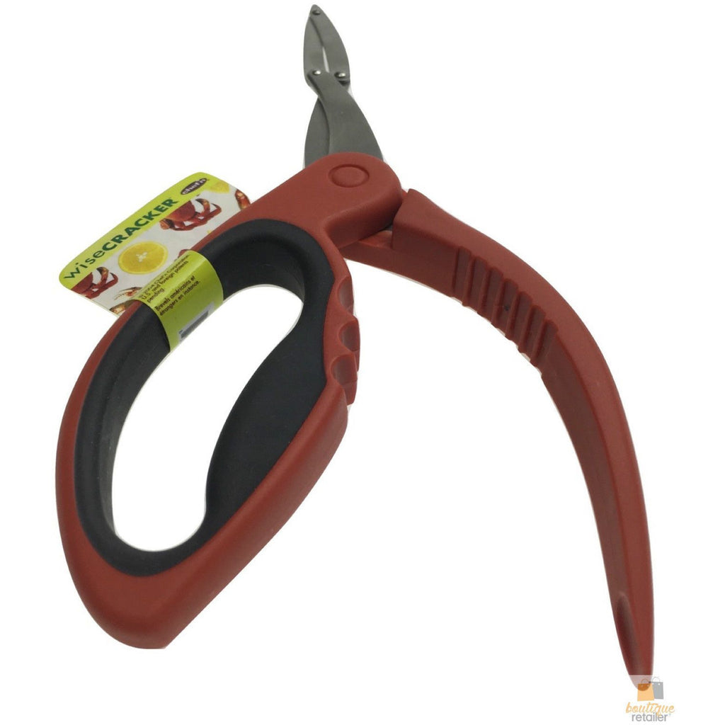 Chef'n CRAB CRACKER Lobster Seafood Shellfish Opener Plier Kitchen Tool New