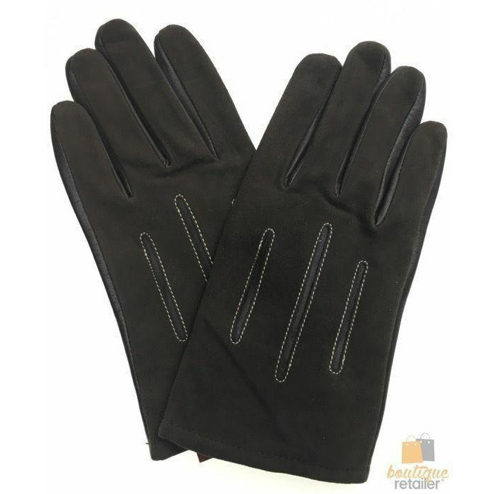 DENTS Sheepskin Leather Gloves with Acrylic Lining Men's Warm Winter ML1054 New