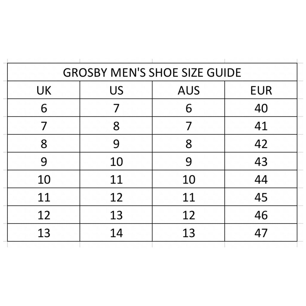 GROSBY Addison Mens Lace Up Casual Shoes Sneaker Skate Everyday New