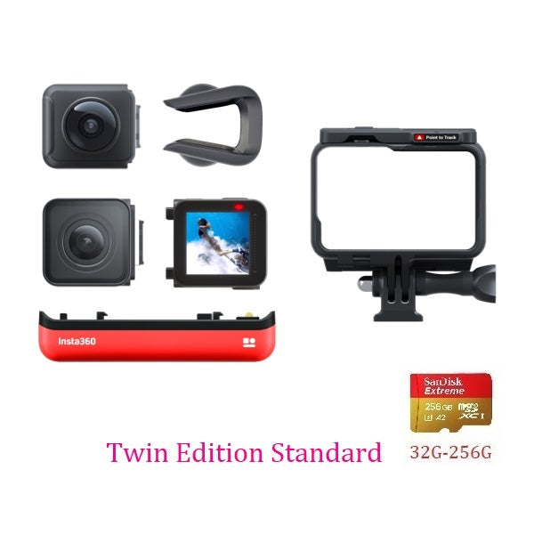 Insta360 ONE R Insta 360 4K 5.7K Action Camera Twin Edition 4K Edition and LEICA Lens Edition