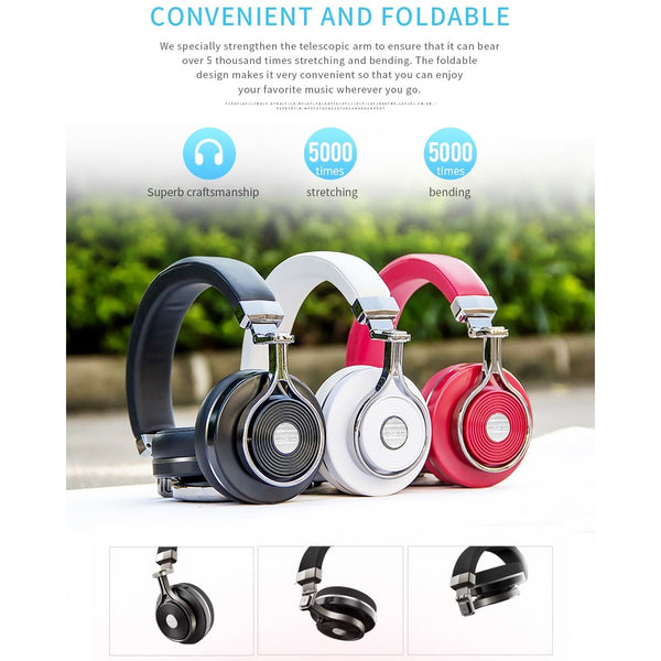 Bluedio T3  Wireless  Bluetooth Headphones With 4.1 Stereo and Microphone