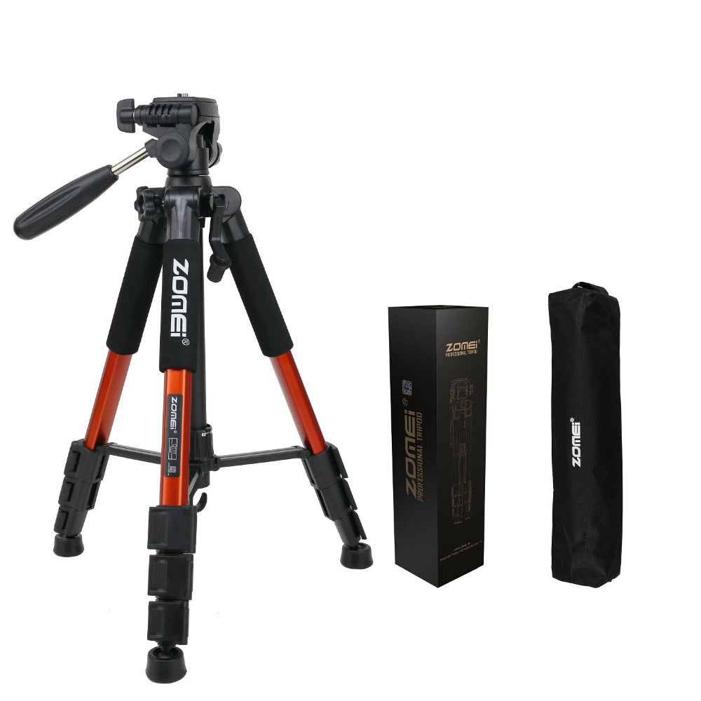Professional Portable Travel Aluminium Camera Tripod