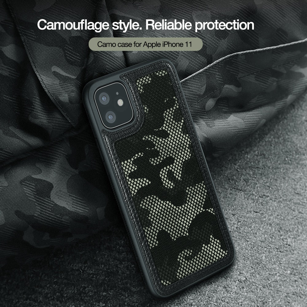 Military Camouflage Protector Anti-Knock Tough Back Cover For iPhone 11
