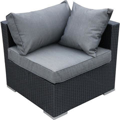 JIMBARAN WICKER RATTAN SOFA LOUNGE 7PC SET - Loungeout
