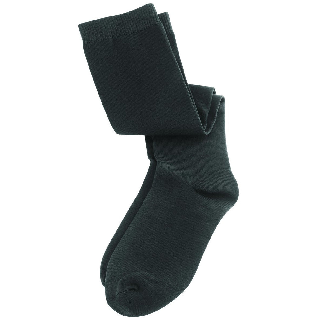 Lewis N. Clark Compact Travel Compression Socks Anti Fatigue Support - Black (M)