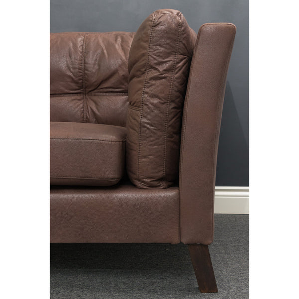 Axton 2.5 and 3 Seater ( Classic Brown ) - Loungeout