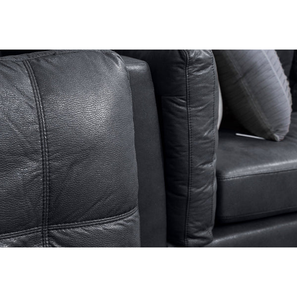 Axton 2.5 and 3 Seater ( Black ) - Loungeout