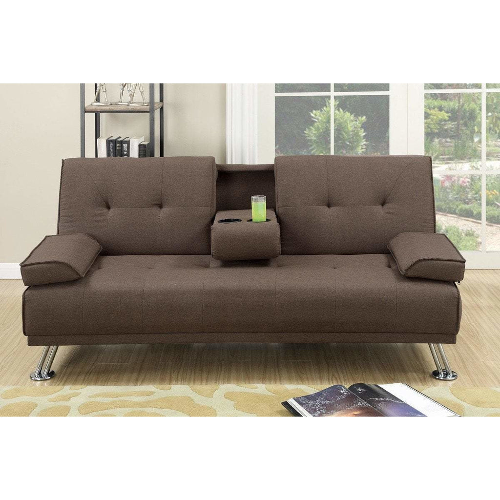 Manhattan Sofa Bed (Brown)