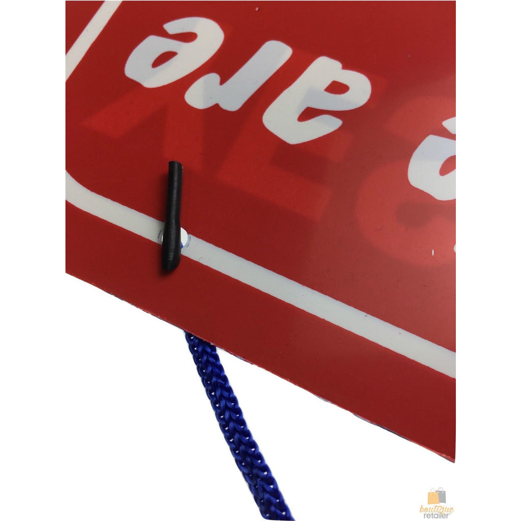 3x OPEN / CLOSED SIGN Plastic Business Shop Window Sign Hanging 28cm x 21.5cm