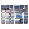 26 PCS Picture Photo Frame Wall Set Home Decor Present Gift Black