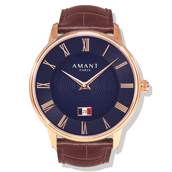 Amant PARIS Luxury Dress Wrist Watch