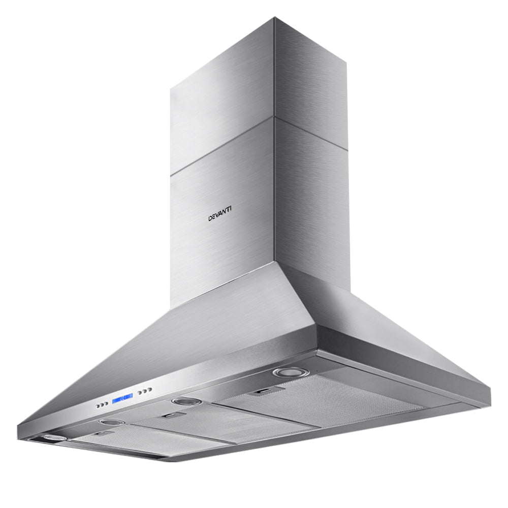 Devanti 1200mm Commercial BBQ Rangehood - Silver