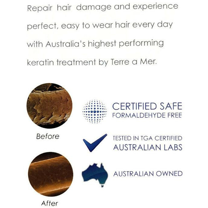 TERRE A MER Intensive Keratin Hair Repair Treatment Therapy Damaged Mask