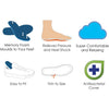 TRIMSOLE Advanced Memory Foam Insoles Inserts Shoe Pads Cut To Size - Original