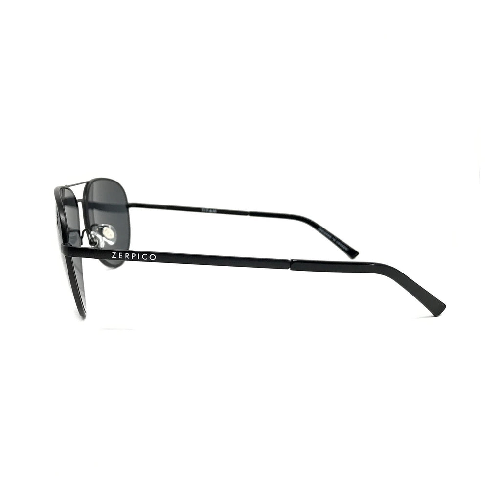 Titanium Aviator Sunglasses - TITAN - Black
