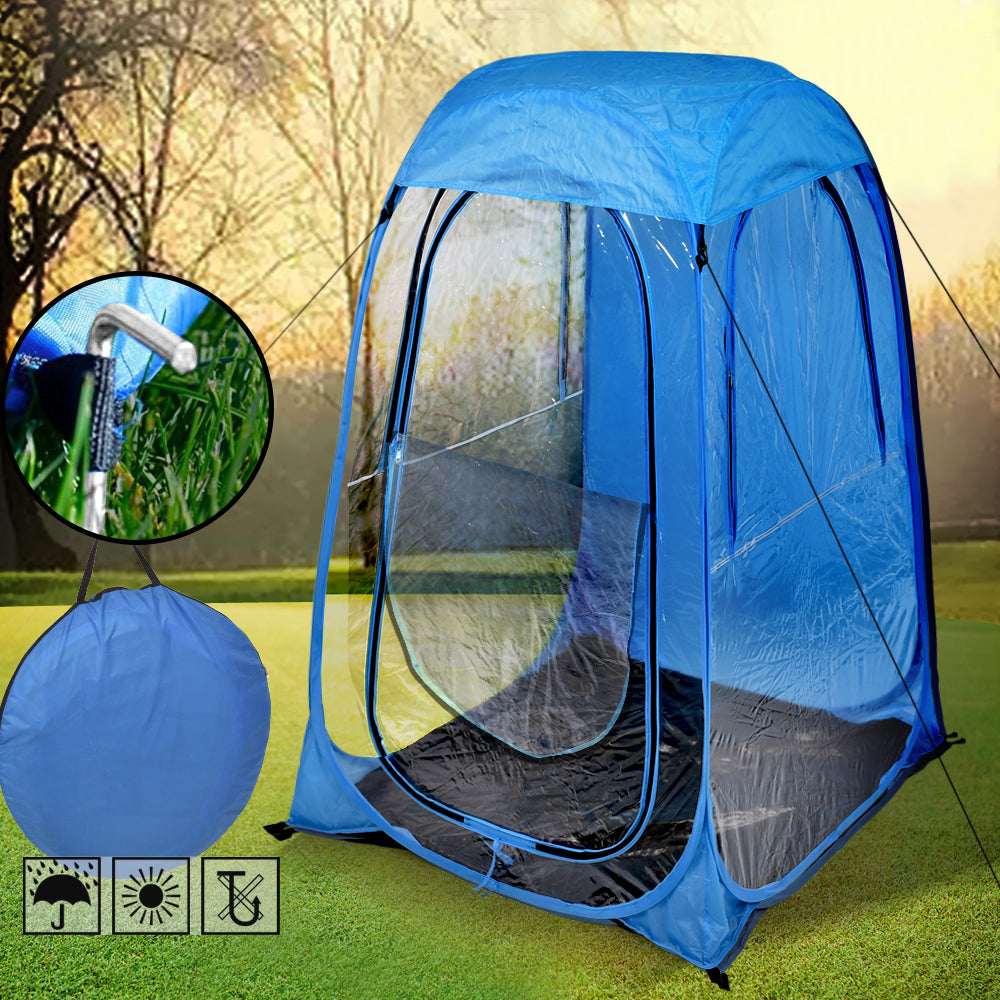 Pop Up Sports Camping Festival Fishing Garden Tent Navy Blue