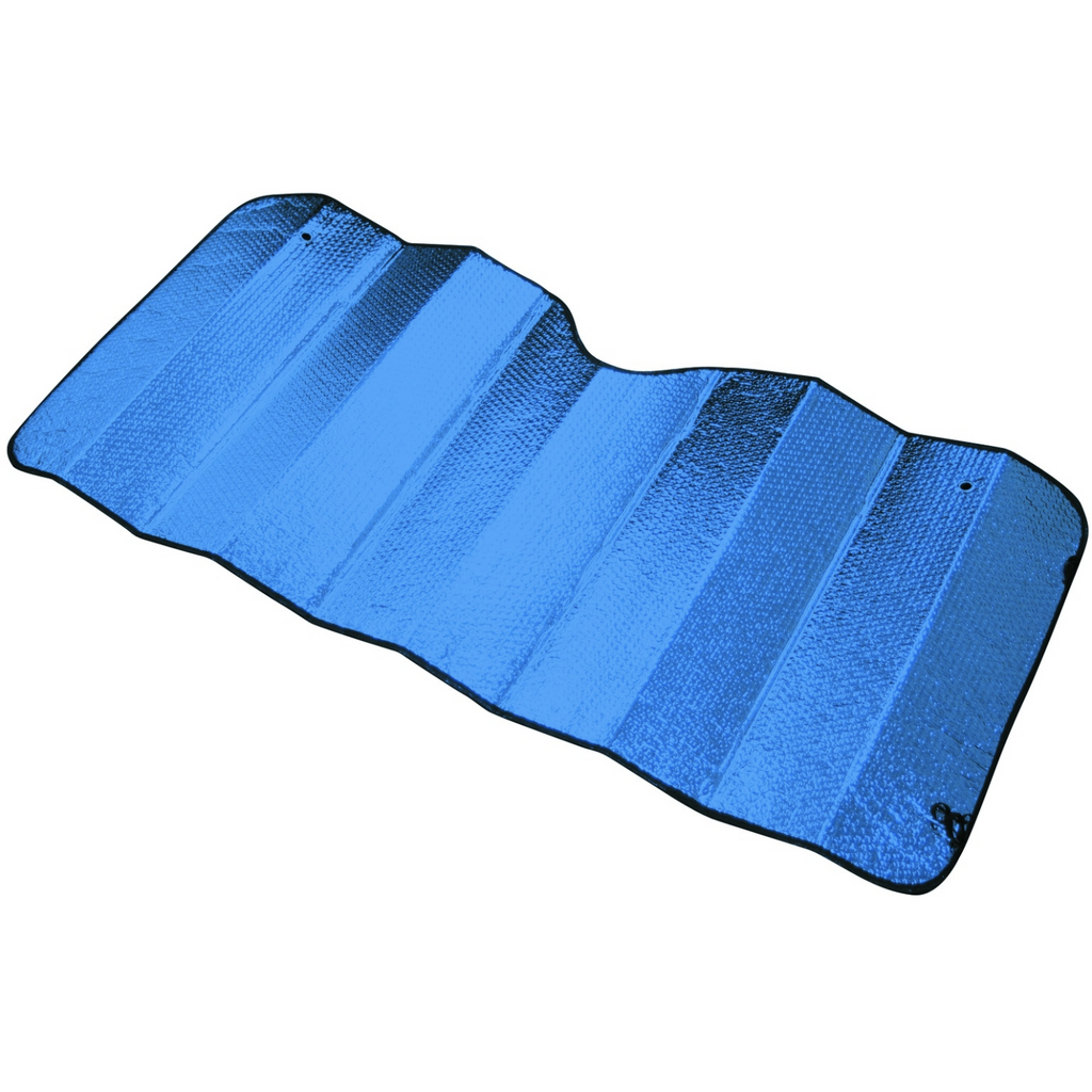 Reflective Sun Shade - Large [150cm X 70cm] - BLUE