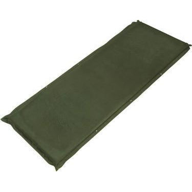 Trailblazer Self-Inflatable Suede Air Mattress Small - OLIVE GREEN