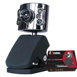 EZCool 1.3M Pixel PC USB Webcam(NOT FOR WIN7)
