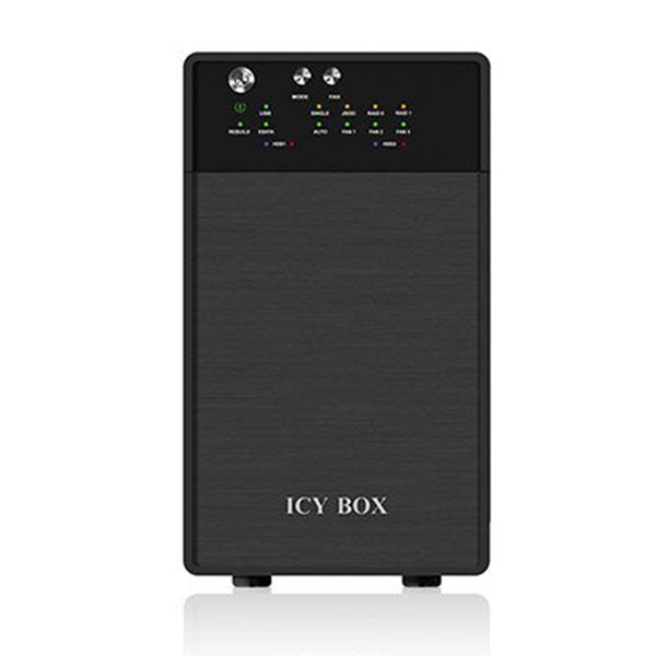 ICY BOX External dual RAID system for 3.5