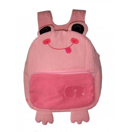 Tree Frog Back Pack Pink