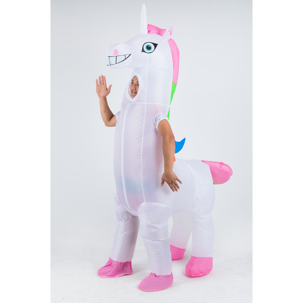 Giant Unicorn Inflatable Costume
