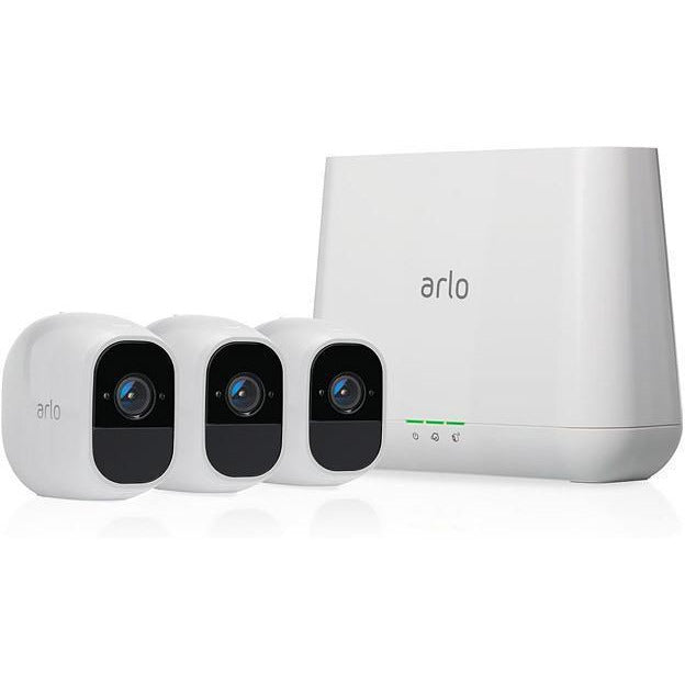 Arlo Pro 2 Smart Security System with 3 Cameras (VMS4330P)
