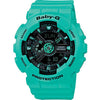 Casio Baby-G Analogue/Digital Metallic Female Blue/Green Watch...