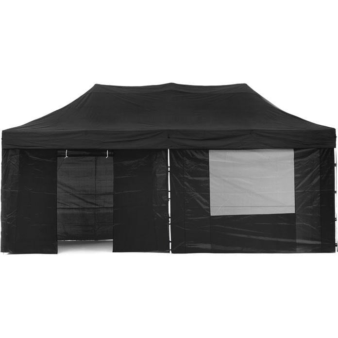 Gazebo Tent Marquee 3x6m PopUp Outdoor Wallaroo Black