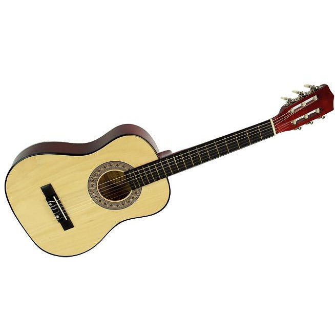 Karrera 34in Acoustic Children no cut Guitar - Natural