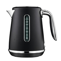 Breville Soft Top Luxe Kettle (Black Truffle)
