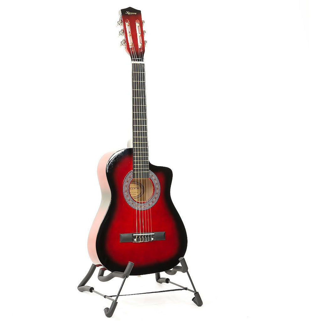 Karrera Childrens Acoustic Guitar Kids - Red