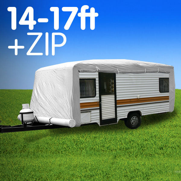 Caravan Cover with zip 14-17 ft