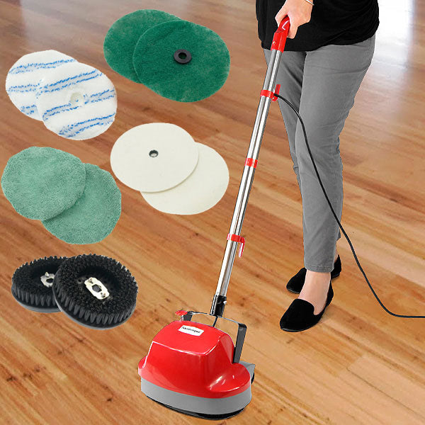Hauskeeper Electric Floor Polisher Timber Hard Waxer Buffer Cleaner