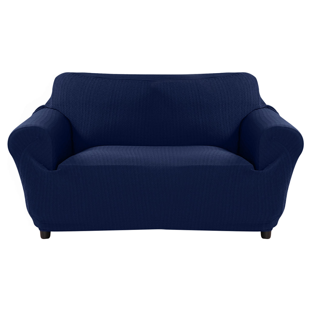 Sofa Cover Slipcover Protector Couch Covers 3-Seater Navy