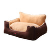 PaWz Pet Bed Dog Puppy Beds Cushion Pad Pads Soft Plush Cat Pillow Mat Brown L