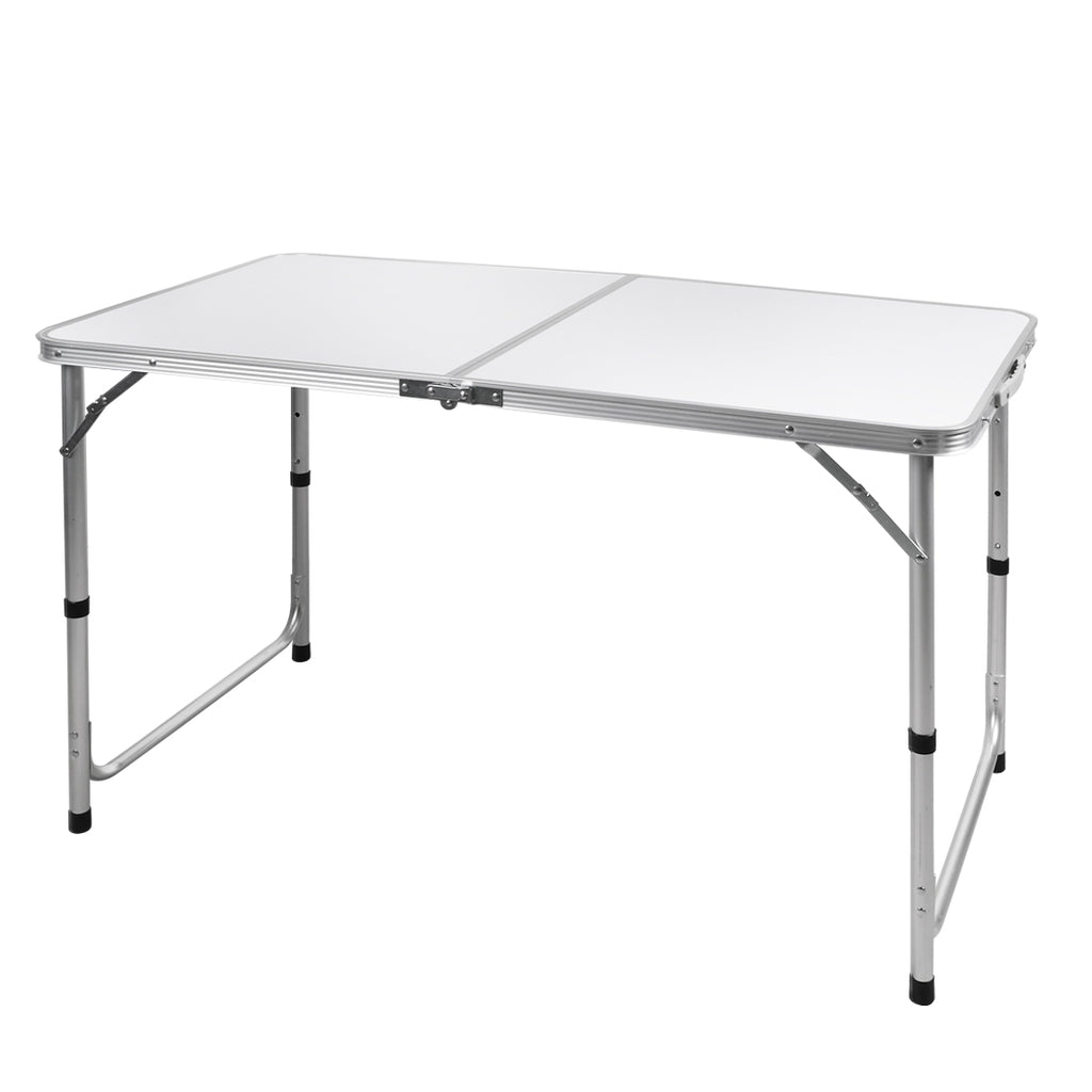 Folding Camping Table Aluminium Portable Picnic Outdoor Foldable Tables 120CM