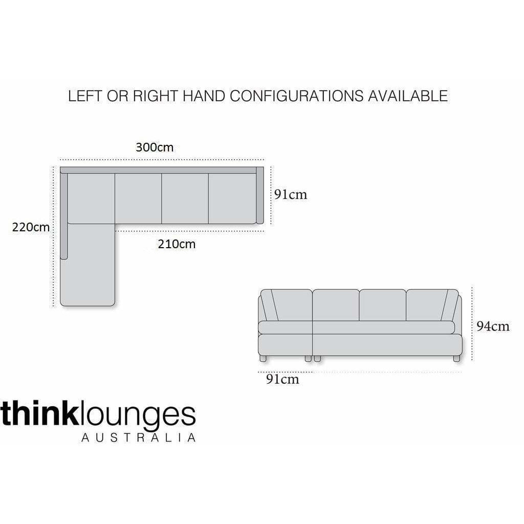 White Lounge | Chaise Lounge | Kingston White