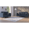 London 2 + 3 Seat Sofa Set (Emerald)