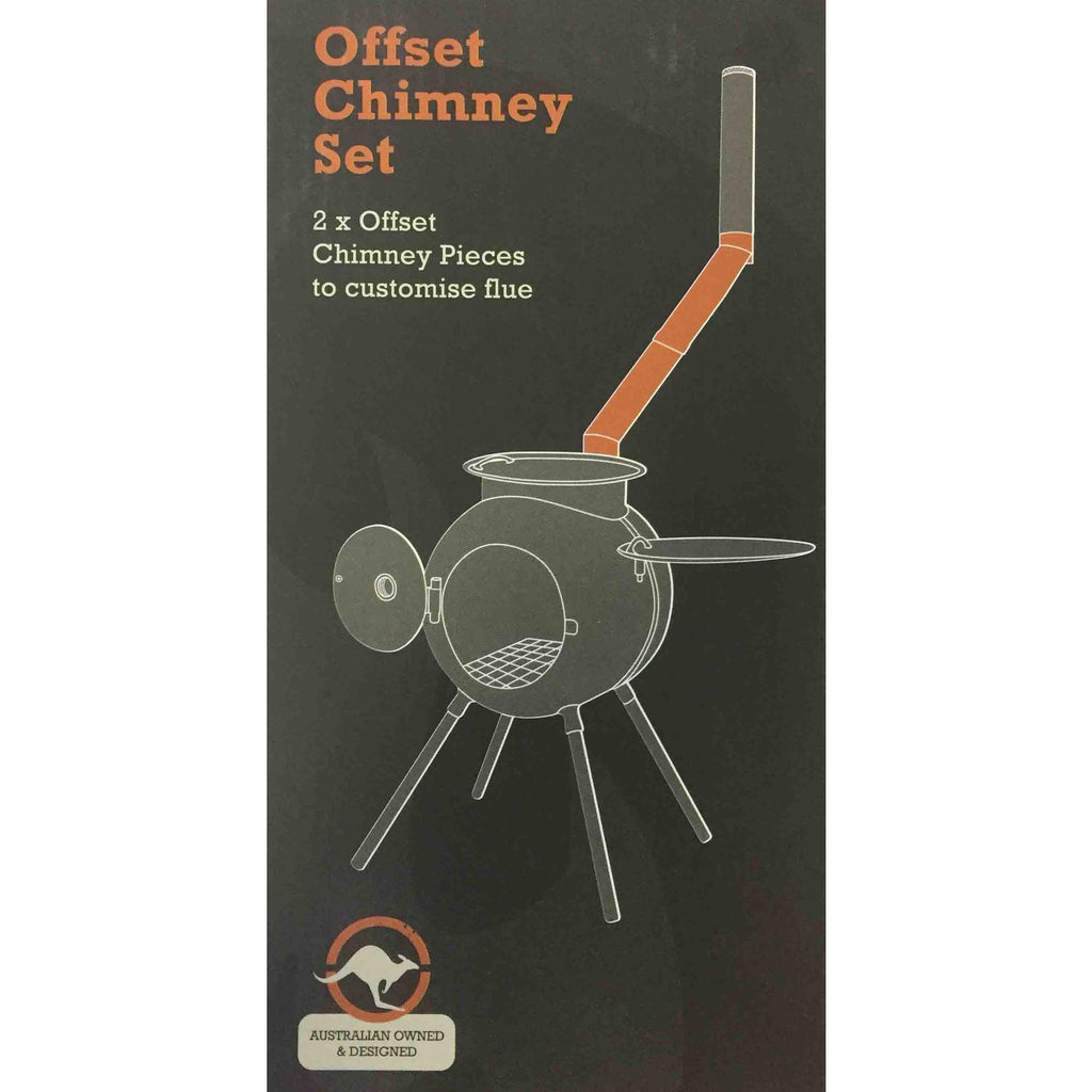 All New Ozpig Double Offset Chimney Piece Kit