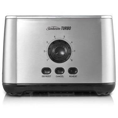 Sunbeam Turbo Toaster - 2 Slice Stainless Steel Free Shipping!