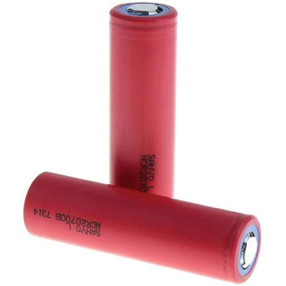 Sanyo NCR 20700 B 20A 4250mAh 3.7V Rechargeable Lithium Battery