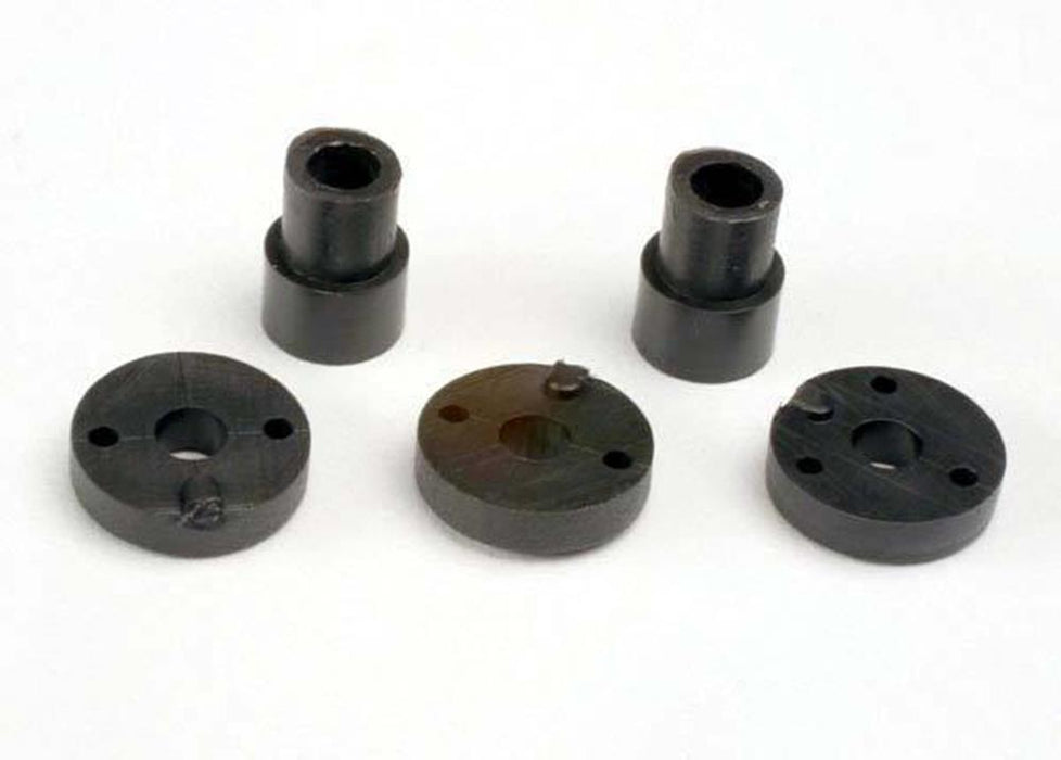 Traxxas 2669 - Piston Head Set (2-Hole (2)/ 3-Hole (2))/ Shock Mountin