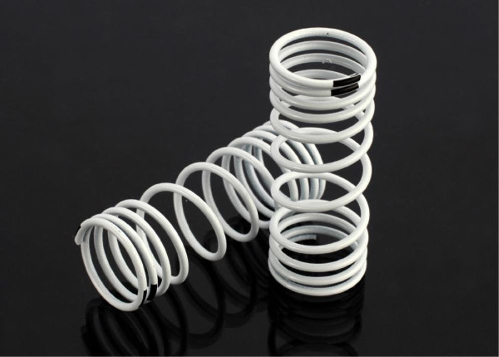 Traxxas 6857 - Springs, Front (White) (Progressive Rate) (2)