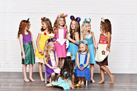 princess dresses for girls and toddlers