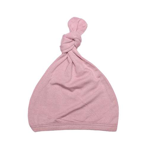 Top Knot Hat - Roseberry
